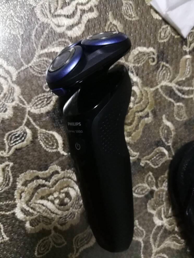 【815周年庆】飞利浦剃须刀电动智能感应刮胡刀进口三刀头5系S5082升级快充版(敏感肌适用)新5系S5000亲肤剃须刀
