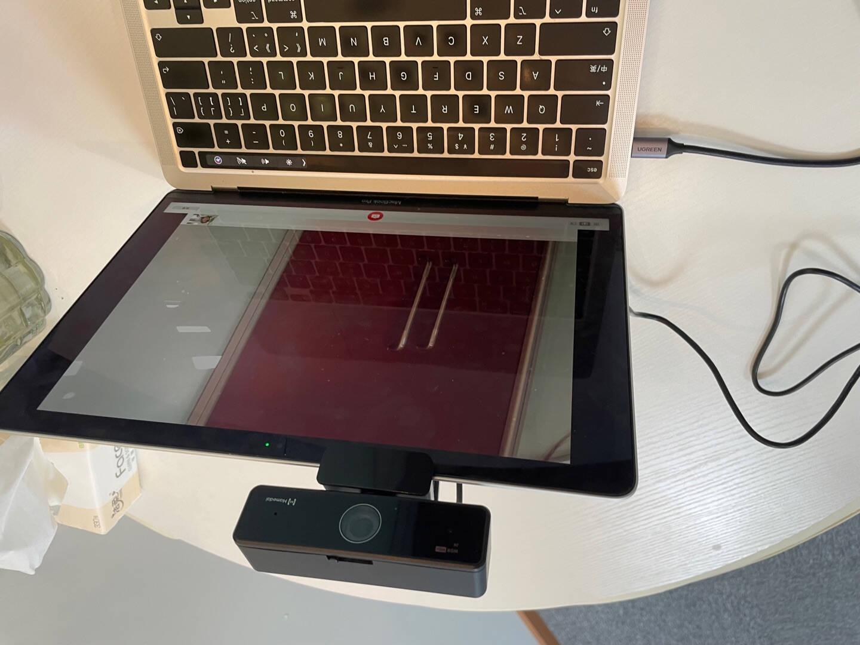 耳目达Hamedal400万高清电脑摄像头台式机2K笔记本网课教学考研直播视频会议麦克风USB免驱V11
