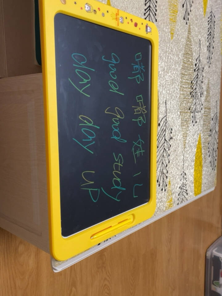 好写8.51012英寸液晶手写板儿童绘画板涂鸦透明临摹电子液晶写字板光能画板智能无尘小黑板8.5英寸款【红色】