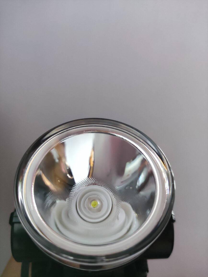 久量充电式防水大功率锂电池头灯/矿灯4000毫安3WDP-7228黑色