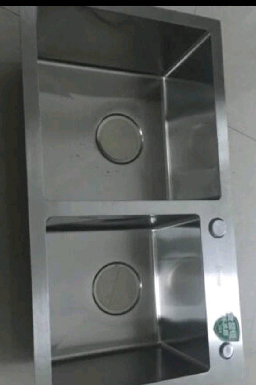 DETBOm水槽不锈钢厨房菜盆下水器水槽洗菜池提篮配件