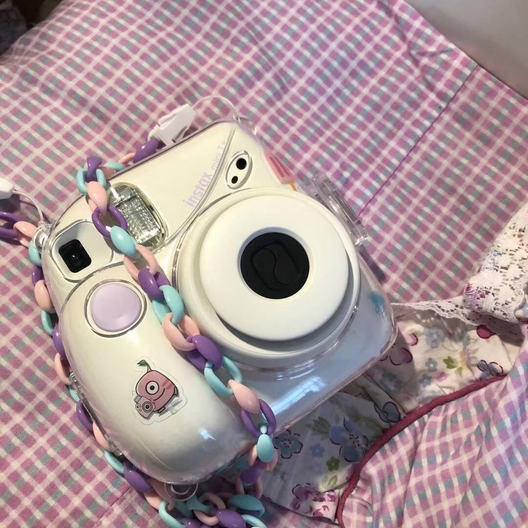 富士instax立拍立得一次成像相机mini7+(mini7c/s升级款)白