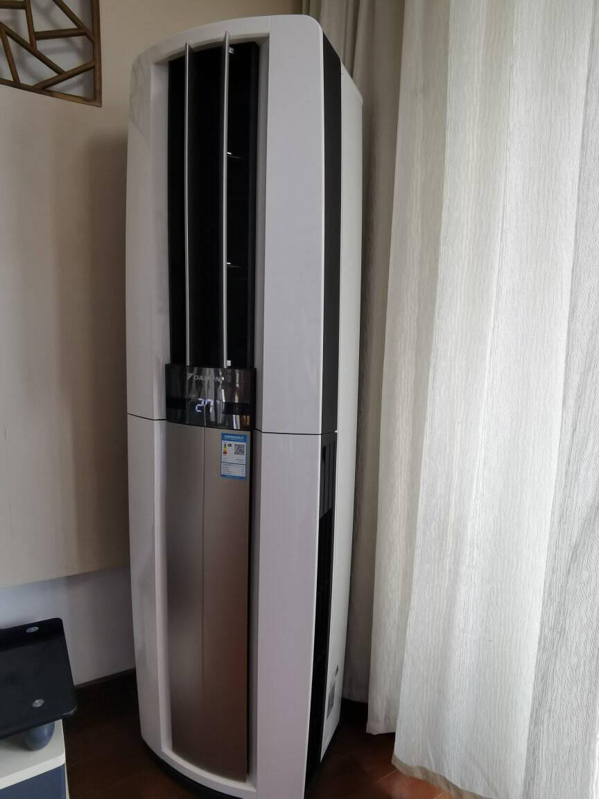 大金空调(DAIKIN)3匹新一级帕蒂能旗舰强劲直流变频冷暖立柜式FVXF172WC新国标FVXF172WC-N金色