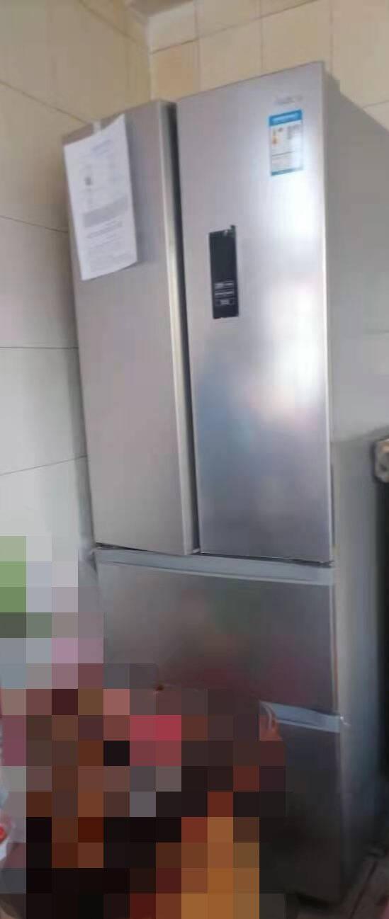 美的(Midea)323升一级能效变频多门双开门风冷无霜家用四开门电冰箱BCD-323WTPM(E)