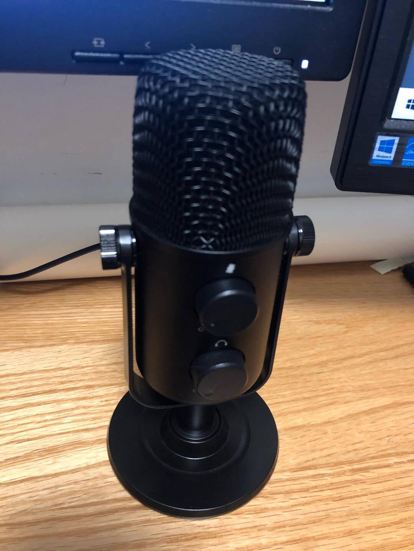 闪克(Sudotack)USB电脑麦克风游戏录课直播电容麦全向收音会议话筒手机电脑有线即插即用AU-902电脑麦+即插即用+赠运费险