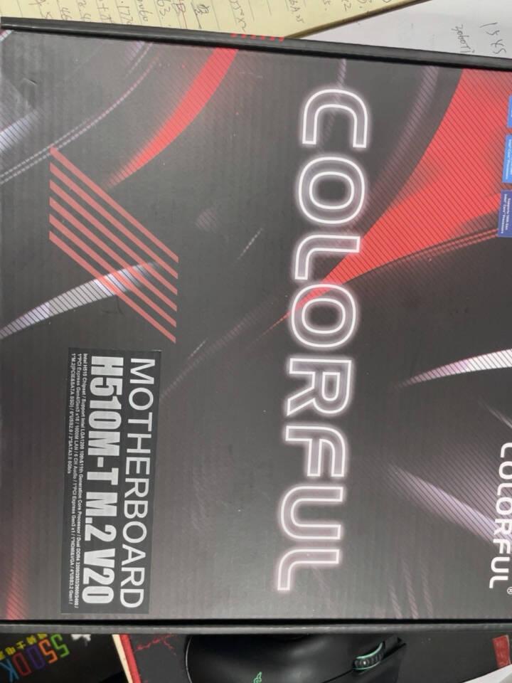七彩虹H510M-TM.2V20+英特尔i5-10400F板U游戏套装/主板+CPU套装