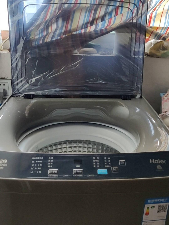 海尔(Haier)波轮洗衣机全自动直驱变频10KG大容量量衣进水自编程随心洗EB100BZ129