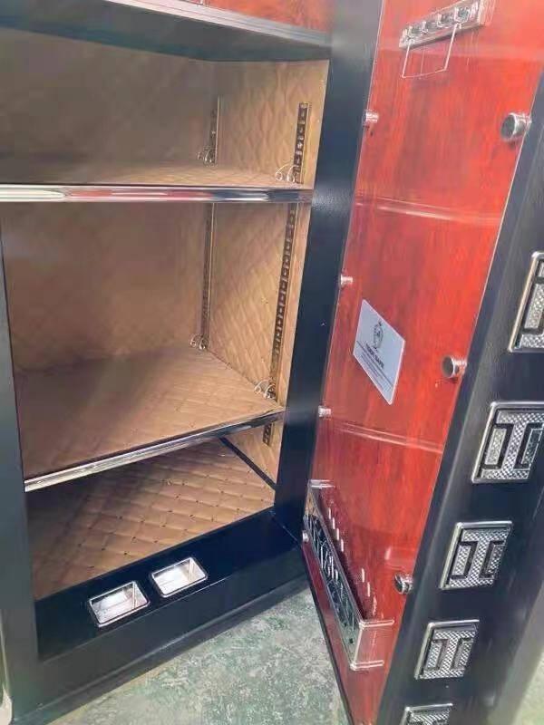 虎牌保险柜办公大型80/100cm家用45/60/70指纹密码1.2米1.5米1.8米全钢防盗保险箱100cm型-单门(备注颜色)触控密码