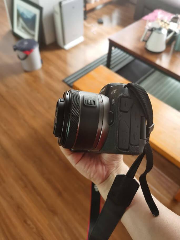 佳能rf501.8stm小痰盂大光圈专微全画幅标准定焦镜头适用EOSRRPR5R6RF50F1.8STM