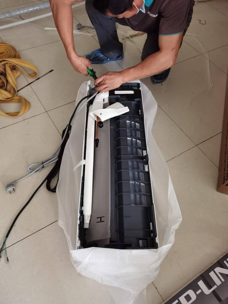 【新能效】海信(Hisense)空调挂机大1匹变频冷暖小黑键卧室低噪KFR-26GW/E25A3