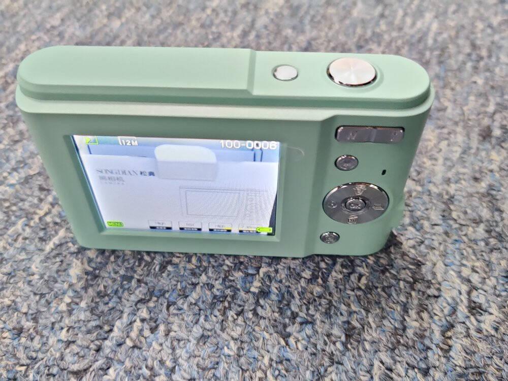 松典学生卡片相机高清数码照相机3600W像素DC311仙女粉2.4寸+32G内存卡