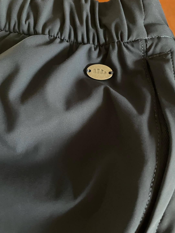 蕉下2021夏季新款防晒裤女宽松休闲裤黑色垂感显瘦薄款-盈弹系列防晒直筒裤云碳黑S