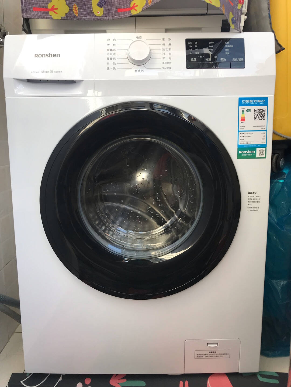 容声滚筒洗衣机全自动超薄7公斤小型迷你一级能效95℃高温洗智能洗婴童洗RG7108