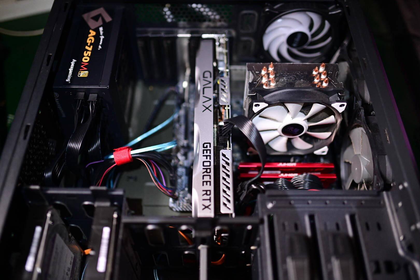 影驰(Galaxy)GeForceRTX3060Ti金属大师OC[FG]N卡/电竞专业游戏显卡
