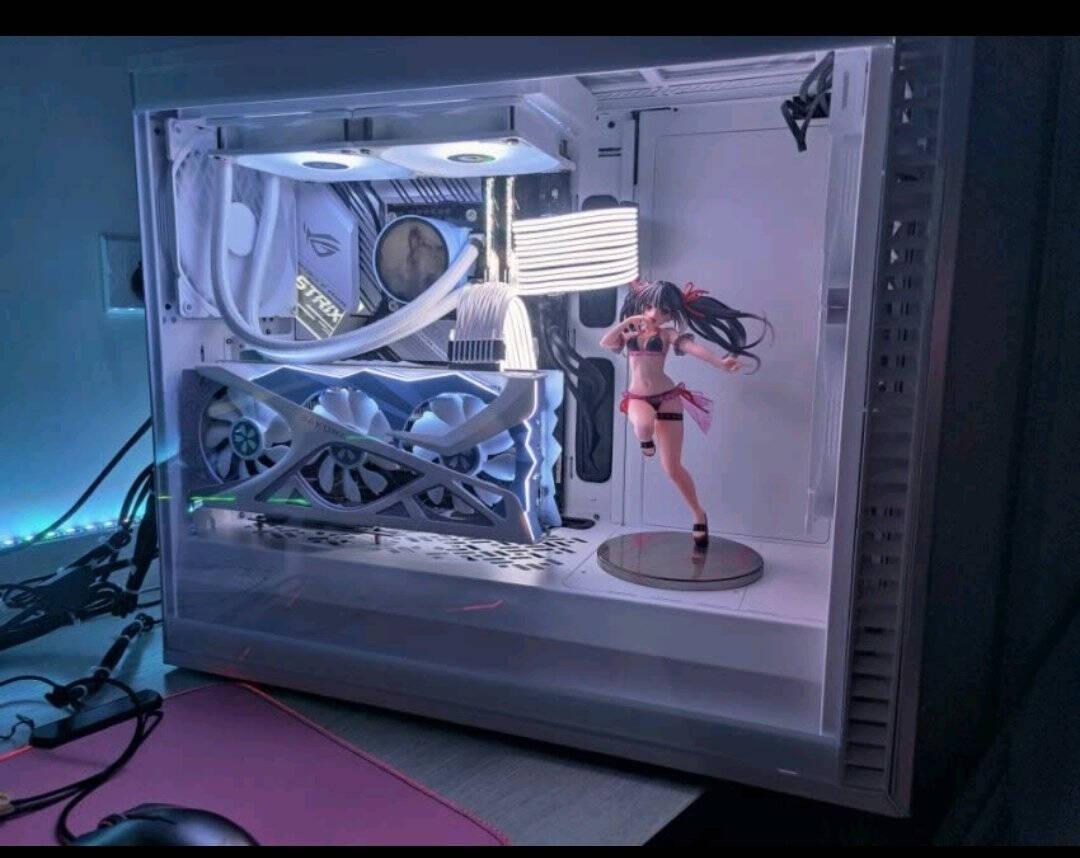 盈通(yeston)AMDRADEONRX6800樱瞳花嫁纪念版7nmRDNA2架构16GBGDDR6电竞游戏显卡
