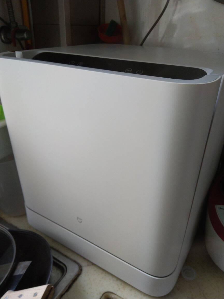 米家小米出品家用8套嵌入式洗碗机刷碗机洗碗机全自动智能手机联动热风烘干语音控制VDW0801M