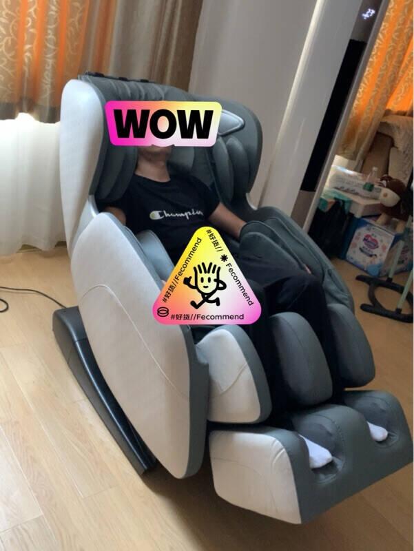 【送礼送健康】奥克斯(AUX)豪华按摩椅家用全身电动全自动零重力太空舱可推拿揉捏颈椎电动沙发苍穹灰