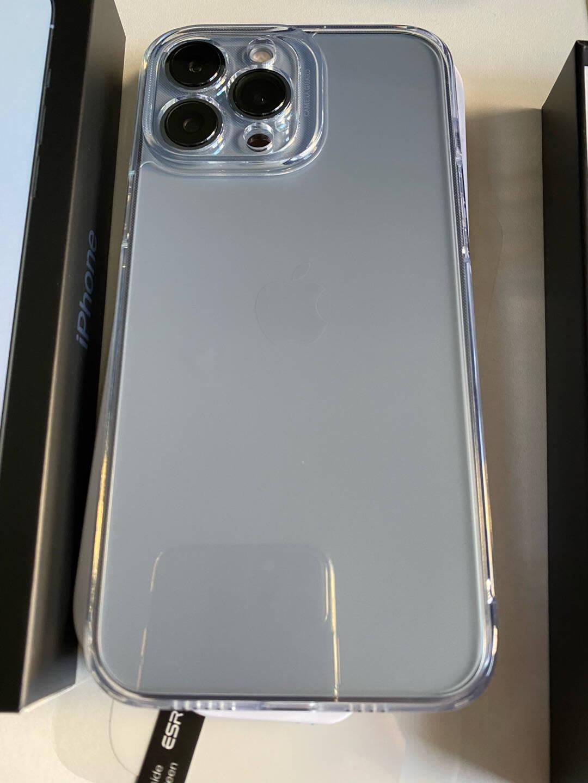 亿色(ESR)【贴坏包赔】苹果13ProMax钢化膜iphone13ProMax手机膜高清全屏覆盖防爆防指纹晶瓷玻璃贴膜2片装