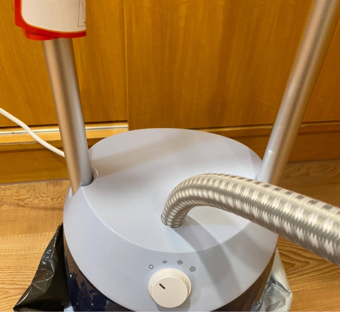 飞利浦(PHILIPS)蒸汽挂烫机熨烫机双杆带熨衣垫1600W五档调节GC523/68