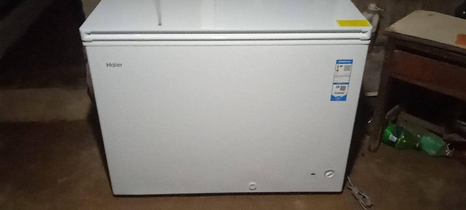 海尔Haier303升低霜家商两用冷藏冷冻转换冰柜鑫蓝系列节能单温大冷柜BC/BD-303HD