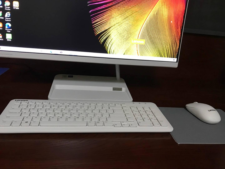 联想(Lenovo)AIO520微边框一体台式机电脑27英寸(11代i5-1135G716G512GSSDwifi6IR摄像头)黑