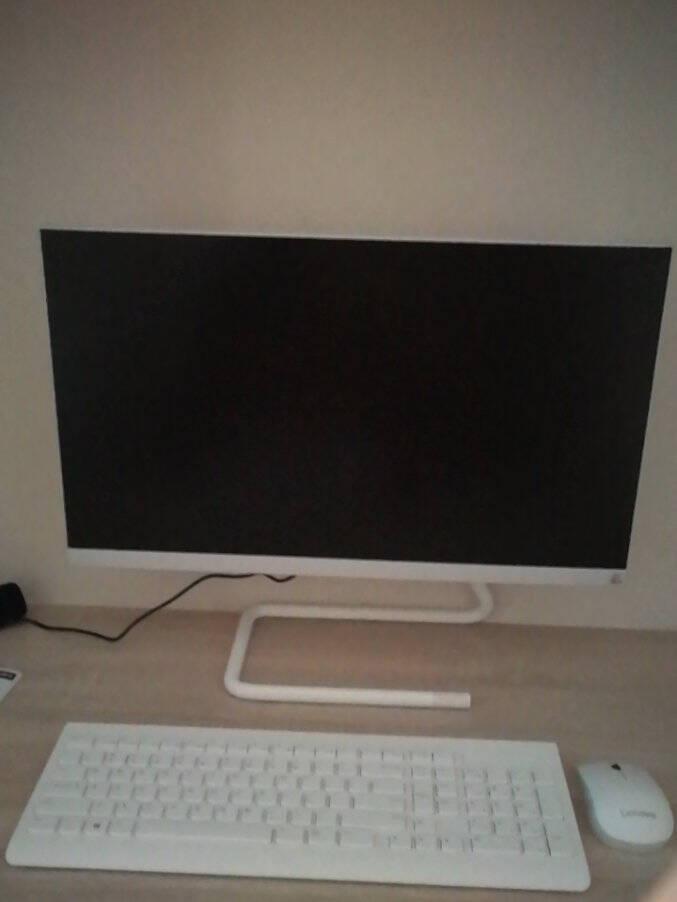联想(Lenovo)AIO520C23.8英寸一体机台式电脑商务办公家用电脑酷睿i3-10110U8G512GSSD黑色