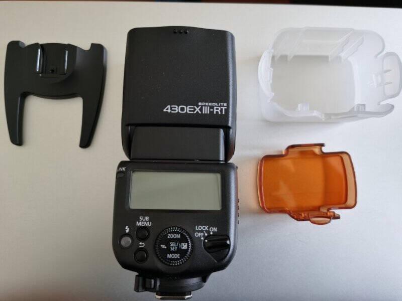 佳能原装闪光灯430EXIII-RT小巧便捷易操作适用于佳能5d46d6d2600d5d3所有型号EOS相机EOSM200M100除外