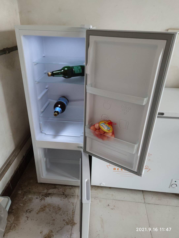 康佳冰箱183升双门两门小型家用电冰箱节能省电宿舍租房神器(白色)BCD-183GB2SU