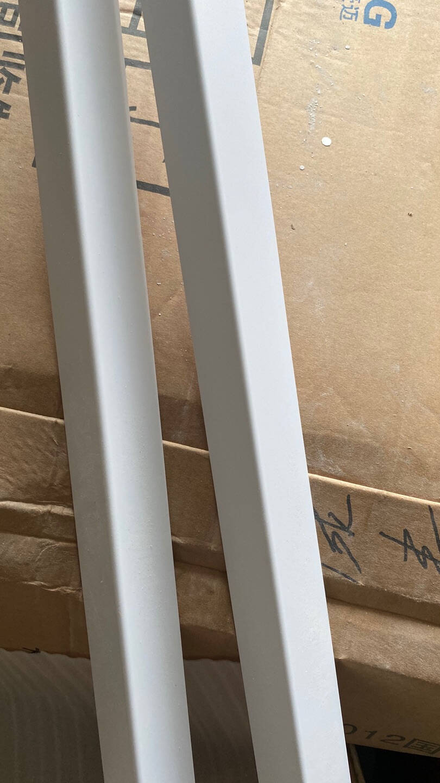 PVC墙角保护条护角护墙角客厅阳角护角条装饰包边自粘防撞条白色光面2.5宽2M