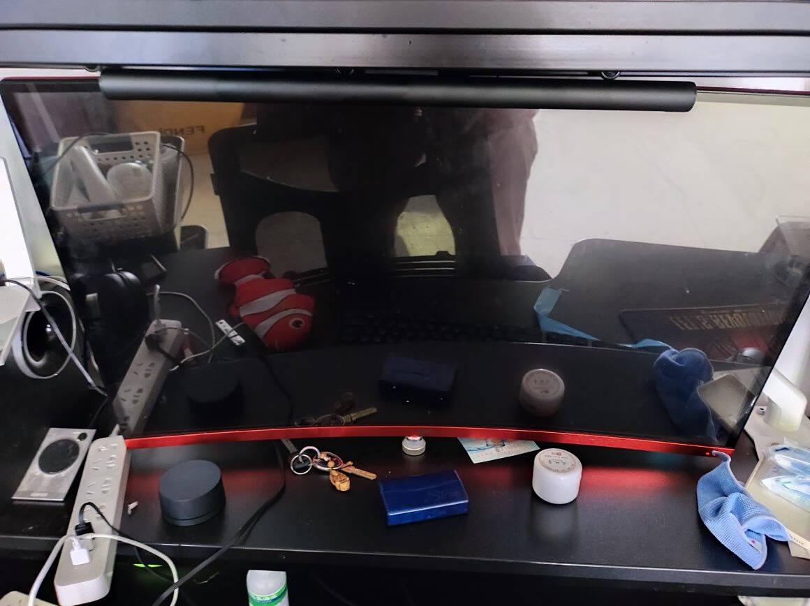 松能/通用AOC三星戴尔飞利浦华硕台式电脑显示器支架臂通用桌面无孔万向旋转伸缩底座屏T6-1【入门基础款】