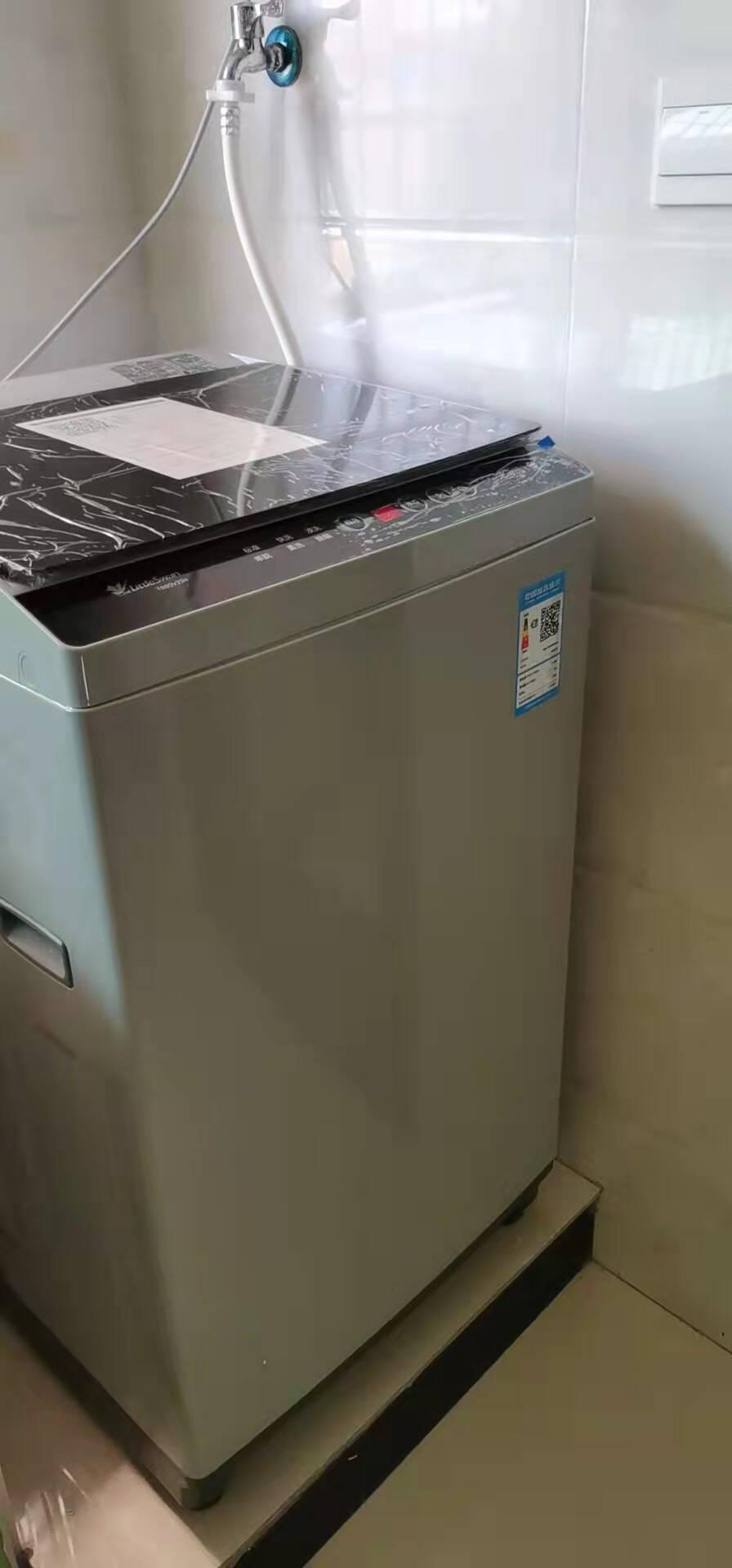 小天鹅LittleSwan洗衣机波轮全自动8公斤除螨洗健康免清洗一键脱水品质电机TB80V23H
