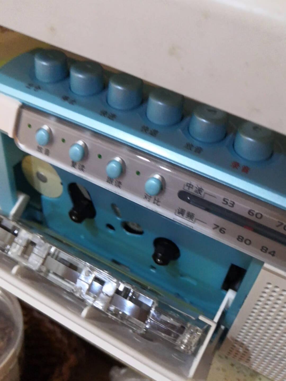 熊猫(PANDA)F-135收录机磁带录音机复读机播放机外语学习机(蓝色)