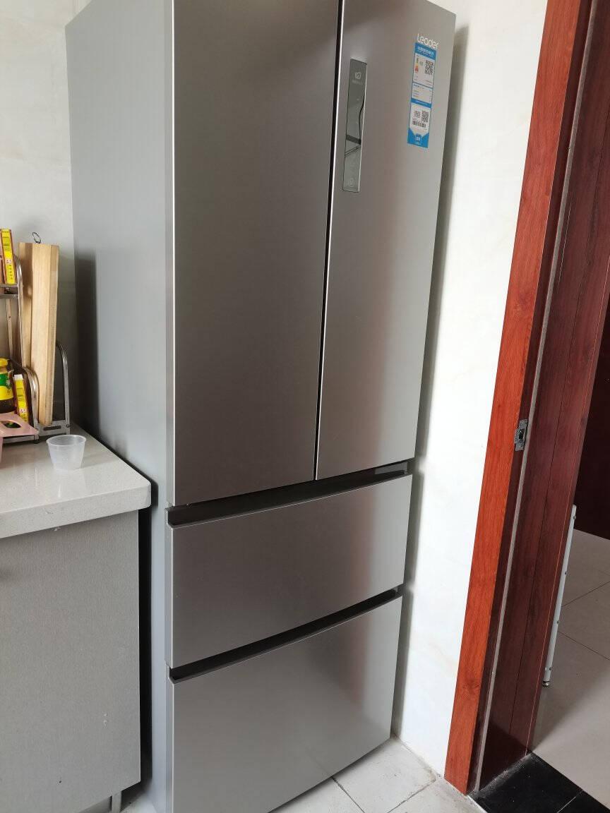 海尔出品Leader统帅冰箱335升法式多门风冷无霜节能家用电冰箱海尔出品335升多温多控多门冰箱