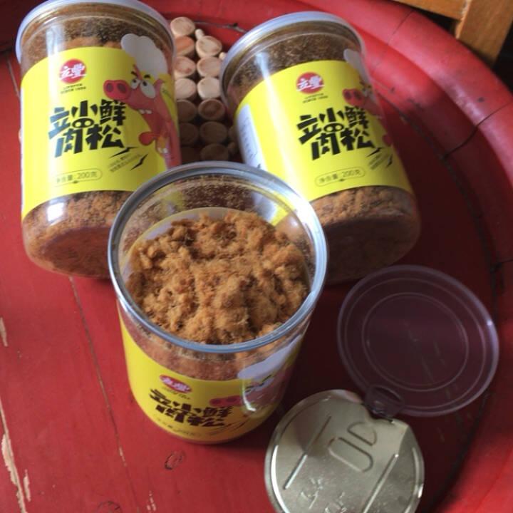 lifefun/立丰立小鲜肉松200g/罐肉松肉酥儿童零食立小鲜肉松200g/罐