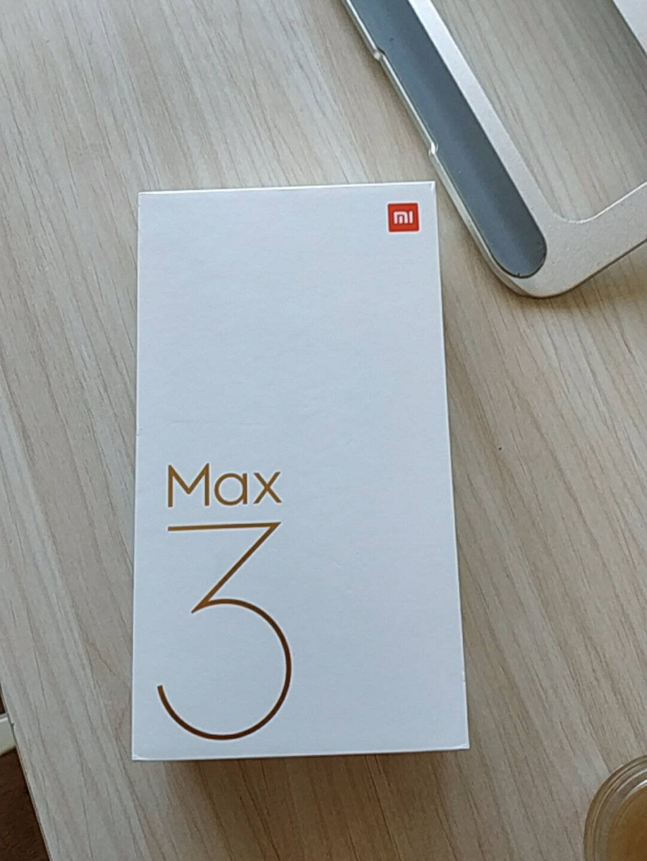 小米(MI)小米Max3全网4G双立体声道骁龙八核处理器6.9英寸大屏幕大容量电池曜石黑6GB+128GB