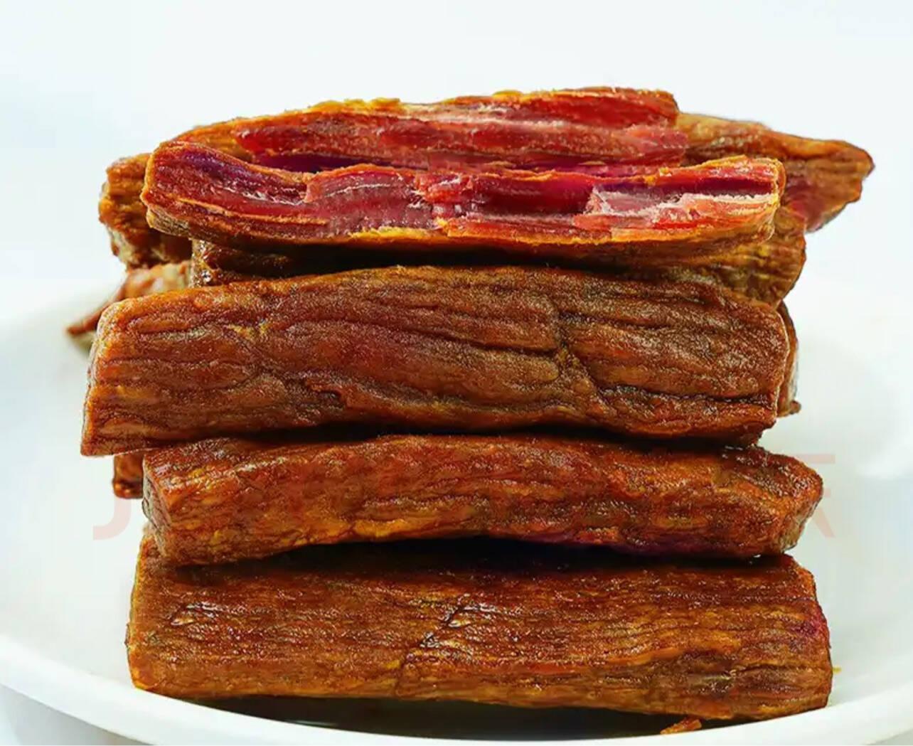 【12袋*40g】肌肉小王子手撕牛肉干牛肉棒健身代餐即食牛肉低脂休闲零食原味