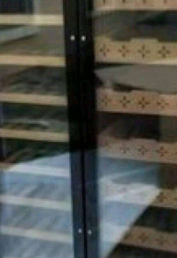 哥仕丹顿(GESHIDOIN)双门恒温控湿雪茄柜一体对开门酒柜茶叶冷藏柜保鲜柜家用客厅商用饮料展示柜1.72米高A款-经典黑