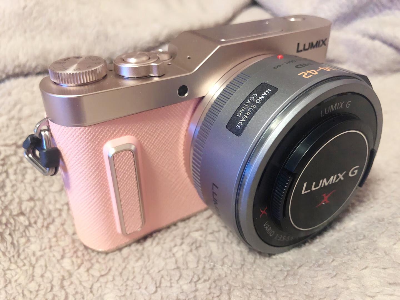 松下粉色GF10X微单相机,送女朋友少女心生日礼物
