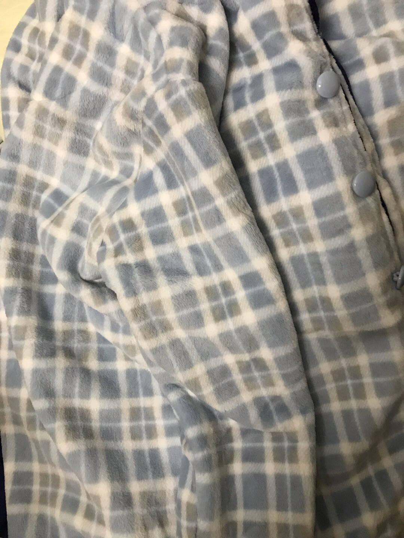南极人睡衣男士秋冬季法兰绒冬天保暖珊瑚绒加厚加绒情侣睡衣女家居服套装NAS5X21011-22男801款藏青XXL