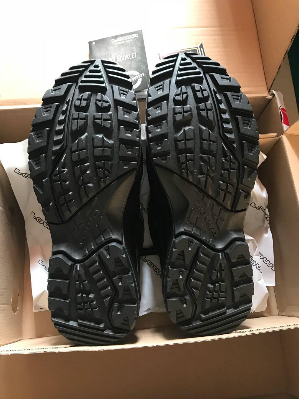 LOWA德国徒步鞋户外防水登山鞋ZEPHYRGTXTF进口男款低帮L310589黑色42