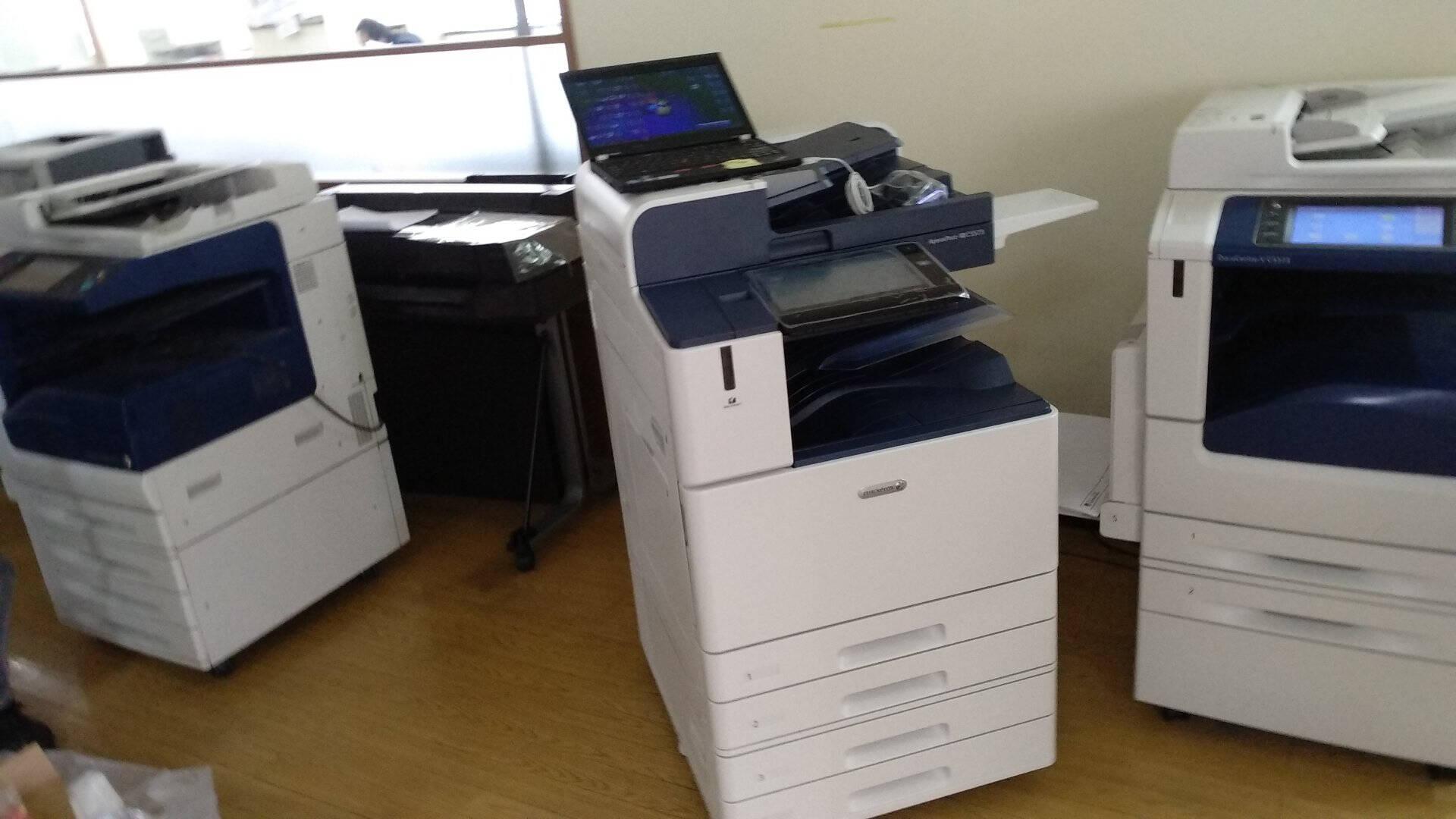 富士施乐SC2022CPSDA复印机a3a4彩色激光打印机2020cpsda升级施乐一体复合机含输稿器及双面器(双纸盒+无线wifi+U盘打印)