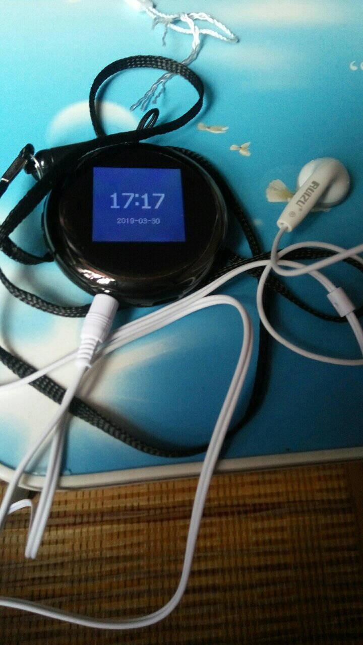 锐族(RUIZU)M18G黑色蓝牙外放学生迷你便携运动无损音乐播放器mp3/mp4英语听力电子书