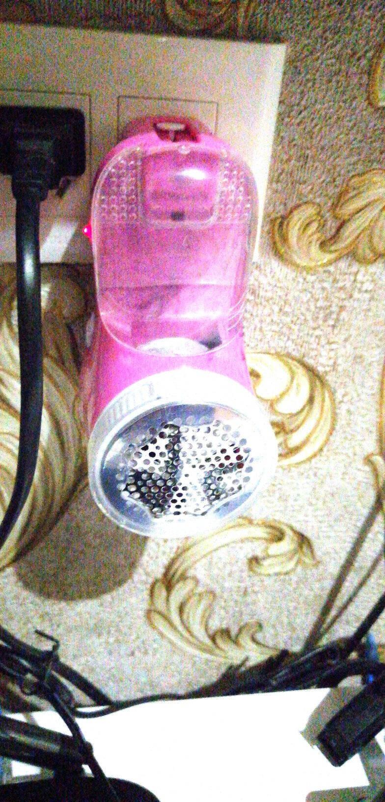 超人毛球修剪器除毛球器衣服电动剃毛球器充电毛衣打球器打毛器不伤衣服充电式家用吸毛器SR7811雾粉色标配