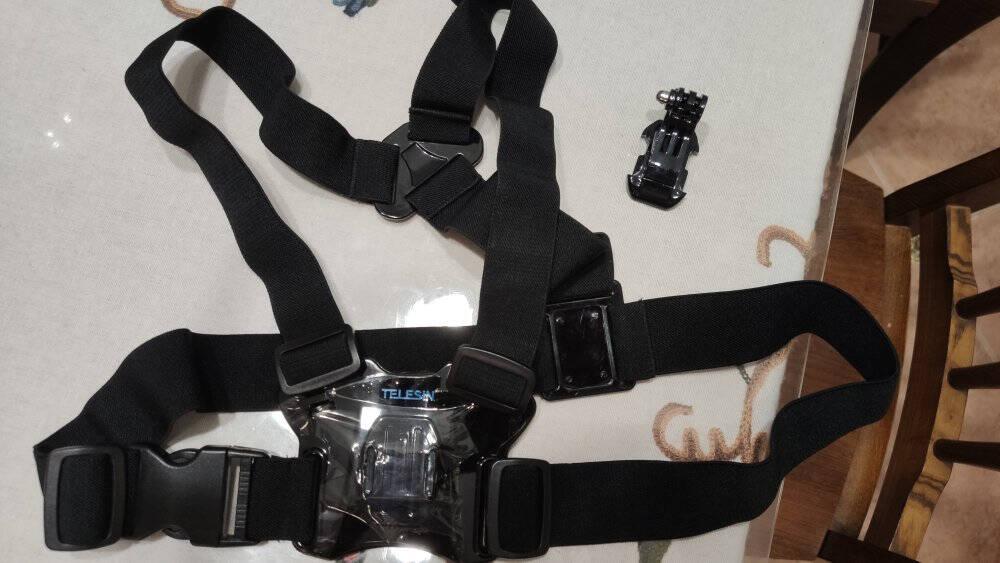 TELESINGoPro98胸带Hero76配件大疆osmoaction运动相机肩带胸戴固定