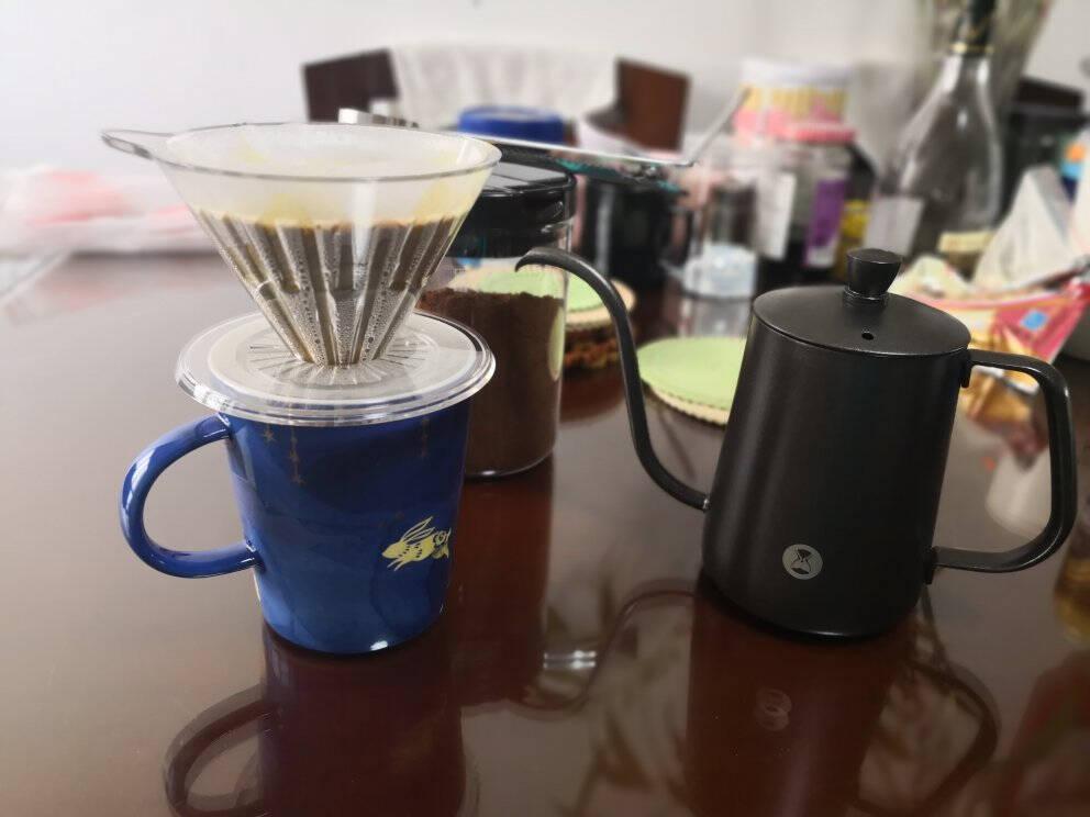 泰摩timemore玻璃冰瞳咖啡滤杯家用手冲咖啡壶套装滴漏咖啡过滤杯