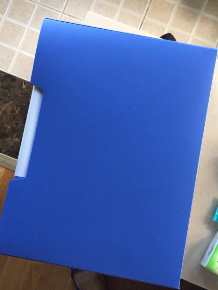 得力(deli)A4/20页资料册文件活页收纳册插袋档案文件夹试卷科目收纳袋文件保护办公用品5102