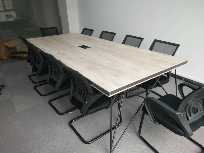 馨香缘(XINXIANGYUAN)办公桌组合简约现代办公桌办公家具屏风工作位2/4/6人员工位定制(色卡颜色一块)