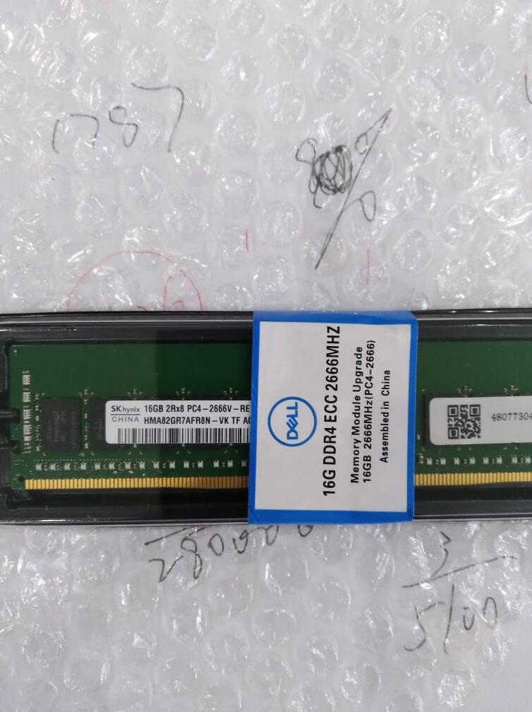 戴尔(DELL)服务器内存条ECC企业级自动纠错原厂盒装64GDDR42933RDIMM