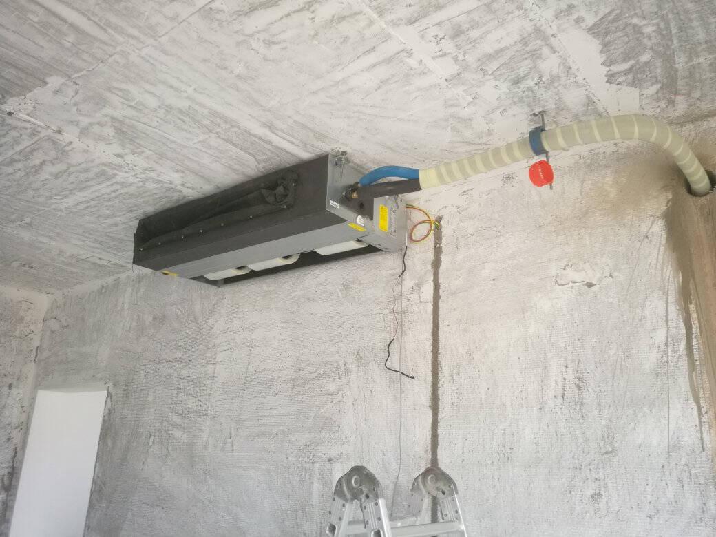 奥克斯(AUX)3匹变频风管机一拖一6年包修智能家用中央空调适用26-42㎡GRD72/BPR3YA-N2厂商配送