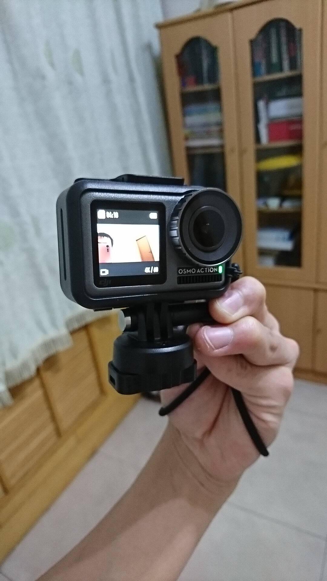 【爆款推荐】大疆DJIOsmoAction灵眸运动相机Vlog拍摄增稳4K超清裸机防水标配+128卡+充电管家套装+七大精选配件